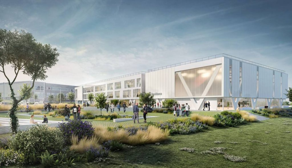 Nouveau lycée la Providence à Saint-Malo